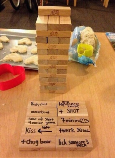 How to Make Jenga More Fun