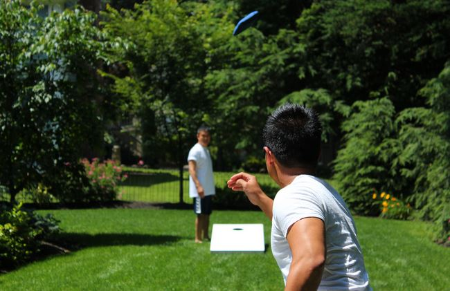 cornhole outdoor party games