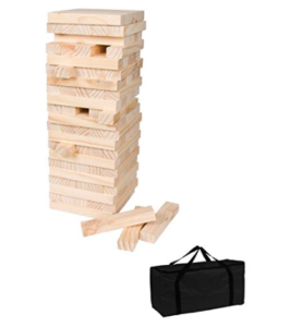 Trademark Innovations Giant Jenga Wood Stacking Puzzle